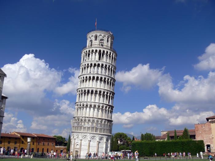 Пизанская башня. / Фото: www.jmroofsiding.com