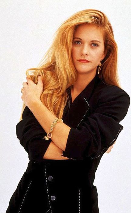Мег Райан, 1991 год. / Фото: www.dailybananas.com