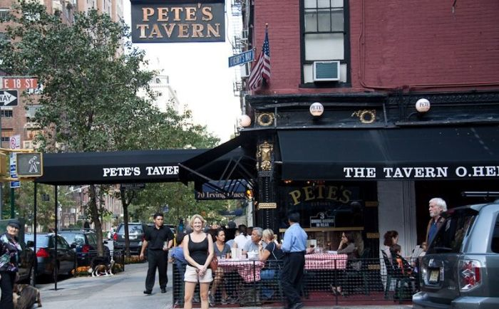 Pete's Tavern, Нью-Йорк. / Фото: www.iamnotastalker.com