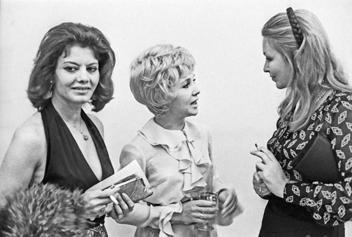 Надежда Румянцева и Марина Влади, 1971. / Фото: /www.kino-teatr.ru