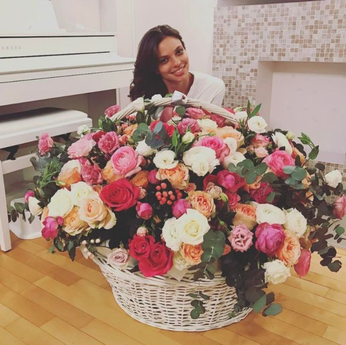 Цветы от любимого. / Фото: www.instagram.com