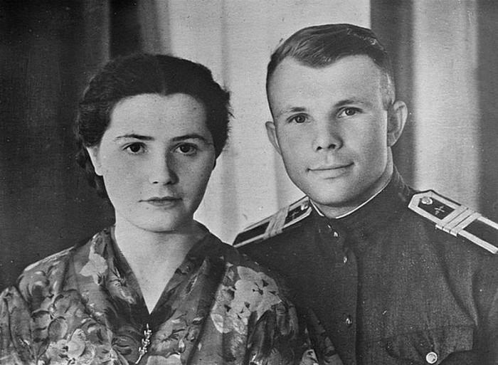 Юрий и Валентина Гагарины. / Фото: www.fishki.net
