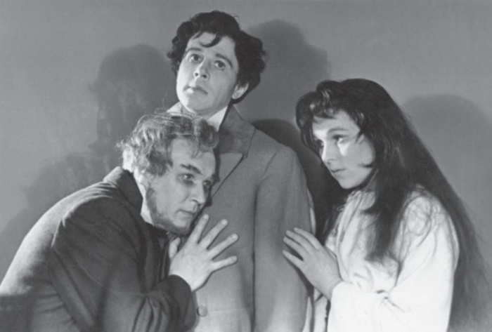 Олег Солюс, Юрий Хлопецкий и Вера Васильева. / Фото: www.loveread.me