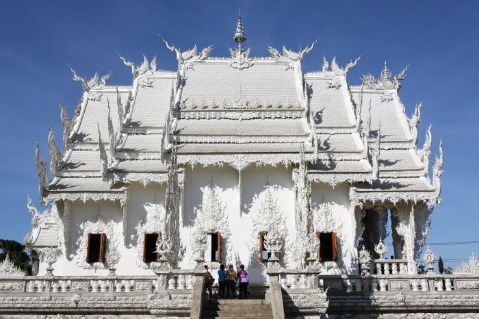 Wat Rong Khun. / Фото: www.wallscover.com
