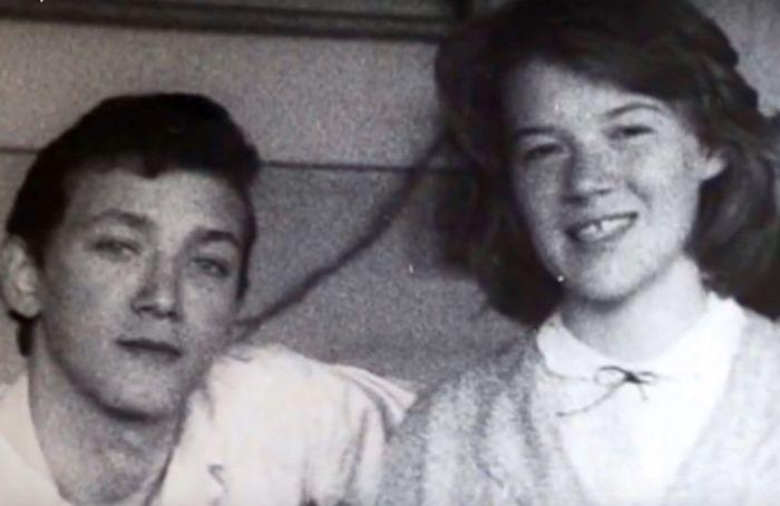 Игорь Старыгин и Юлия Айрова в школе. / Фото: www.1tv.ru