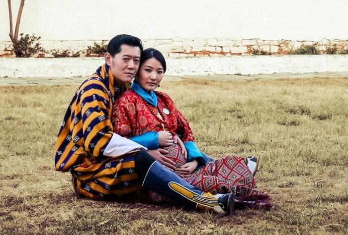 Король и королева Бутана в ожидании первенца. / Фото: www.rappler.com