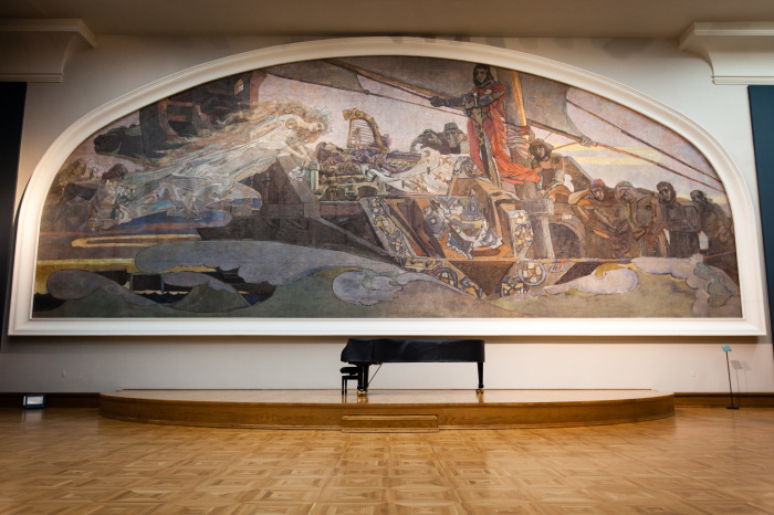 МиÑаил Врубель, «Принцесса Грёза» в зале Третьяковской галереи. / Фото: www.wikimedia.org