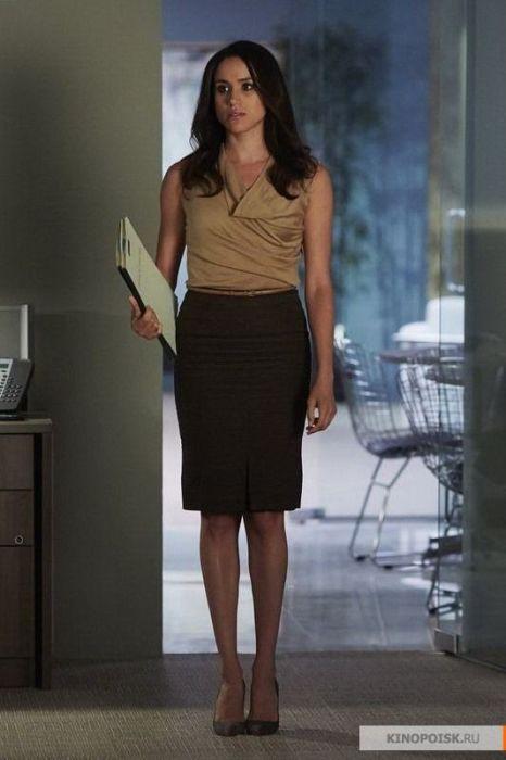 """Меган Маркл в роли Рейчел Зейн, """"Форс-мажоры"""". / Фото: www.tvequals.com"""
