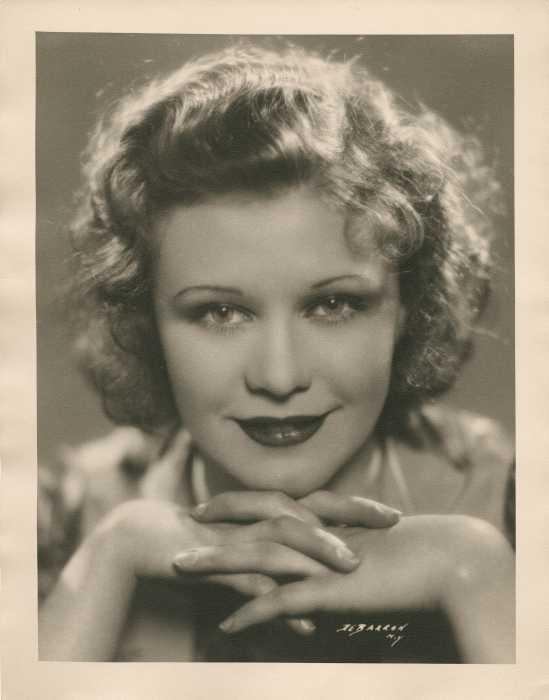 Джинджер Роджерс, 1930./Фото George DeBaron