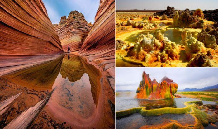Такие картины создает сама природа.