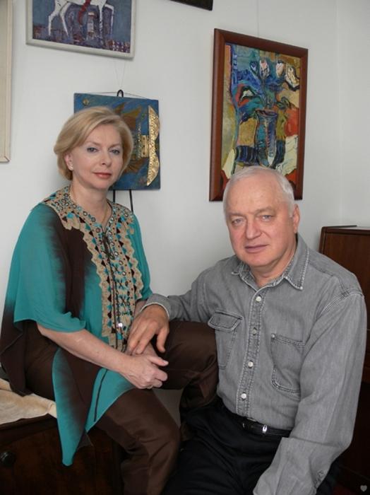 Татьяна и Сергей Никитины дома. / Фото: www.sergeytatiananikitiny.com