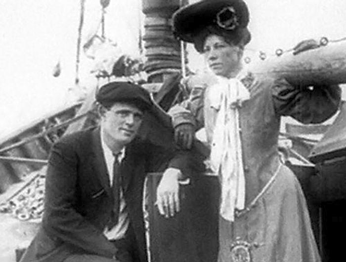 Джек Лондон и Анна Струнская. / Фото: www.persons-info.com