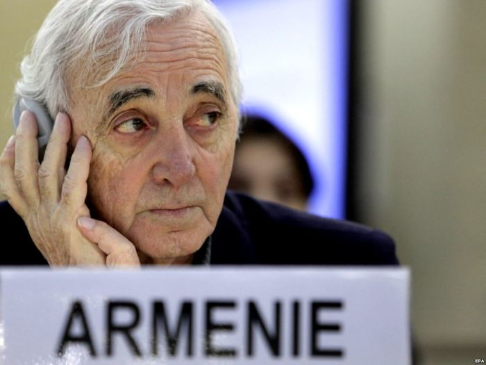 Шарль Азнавур был представителем Армении в ООН. / Фото: www.verelq.am