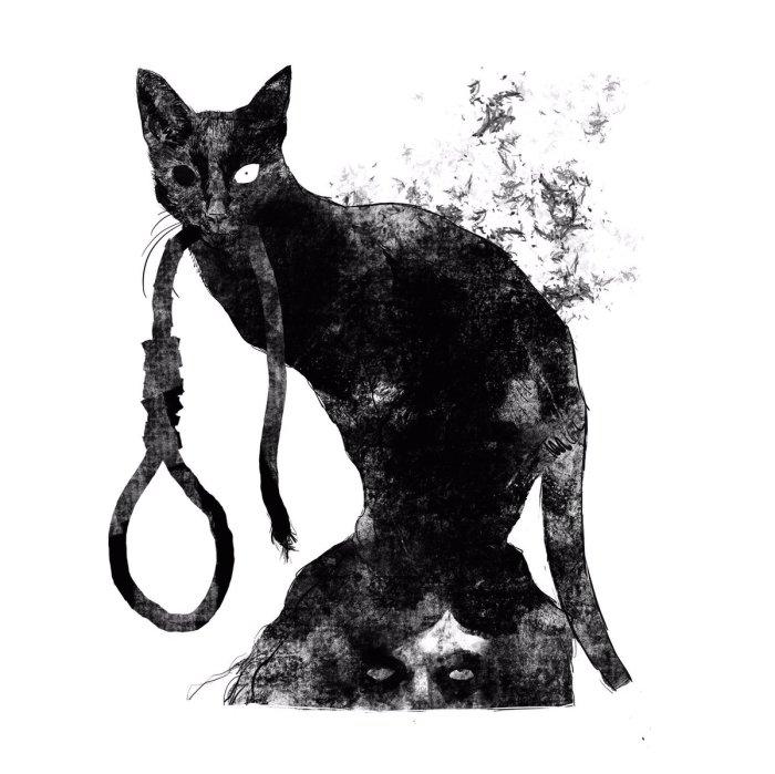 Чёрный кот Ðдгара Аллана По. / Фото: www.twimg.com