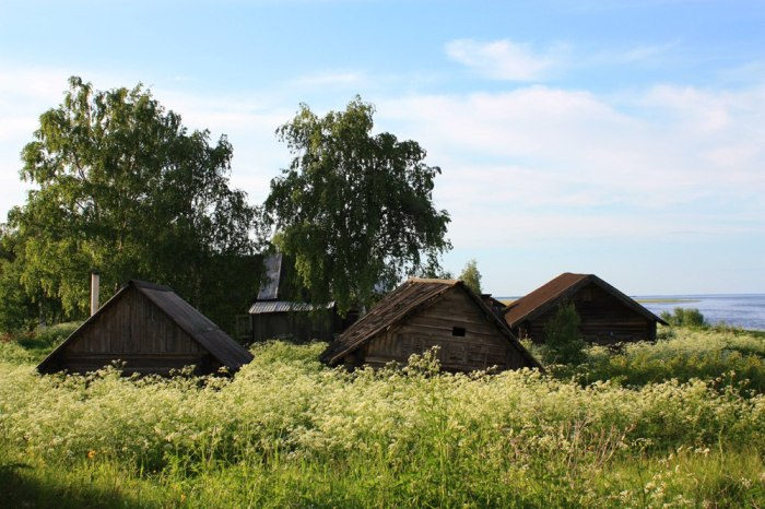 Чаронда, Вологодская область. / Фото: www.fotocdn.net