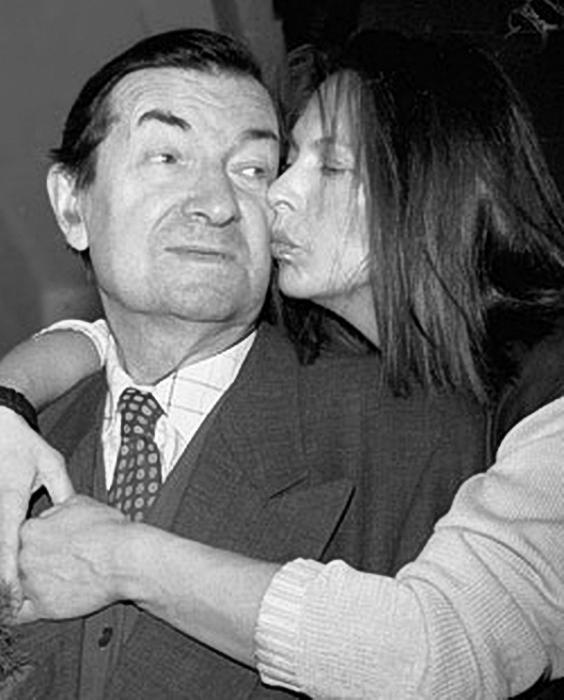 Георгий Вицин с дочерью Натальей. / Фото: www.facenews.ua