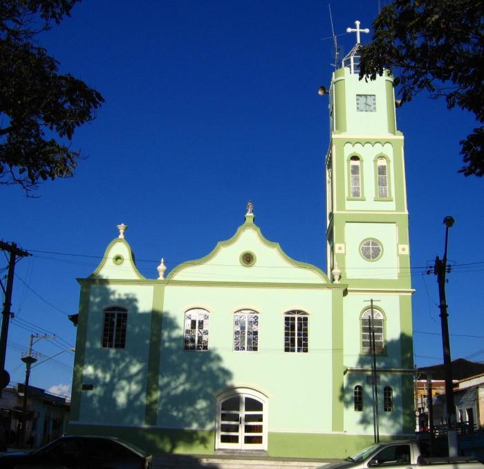 Собор в Биритиба-Мирим, Бразилия. / Фото: www.wikimedia.org