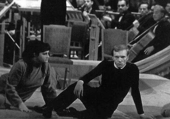 Александр Кайдановский в роли Гамлета, 1967 год. / Фото: www.photofile.ru