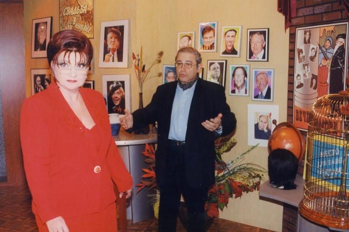 Евгений Петросян и Елена Степаненко. / Фото: www.woman.ru