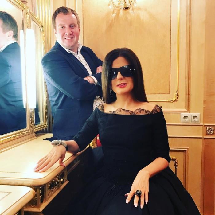 Диана Гурцкая и Петр Кучеренко. / Фото: www.woman.ru