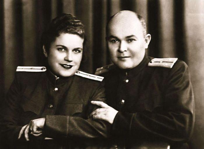 Родители актрисы. / Фото: www.7days.ru