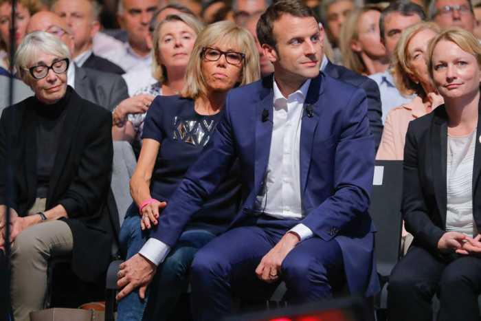 Эммануель Макрон и его жена,12 июля 2016 год. / Фото: www.parismatch.com