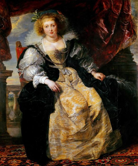 Портрет Елены Фоурмен в свадебном одеянии, 1631. / Фото: www.gallerix.ru