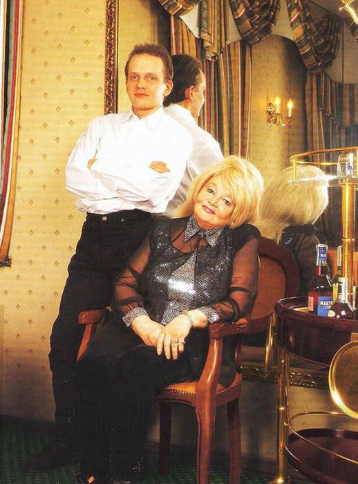 Дмитрий Егоров и Наталья Кустинская. / Фото: www.woman.ru