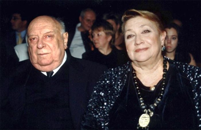 Софико Чиаурели и Котэ Махарадзе. / Фото: www.kino-teatr.ru