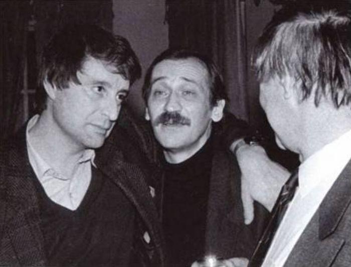 Леонид Филатов и Вениамин Смехов. / Фото: www.you-books.com