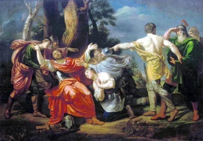 «Дмитрий Донской на Куликовом поле», 1805. / Фото: www.liveinternet.ru