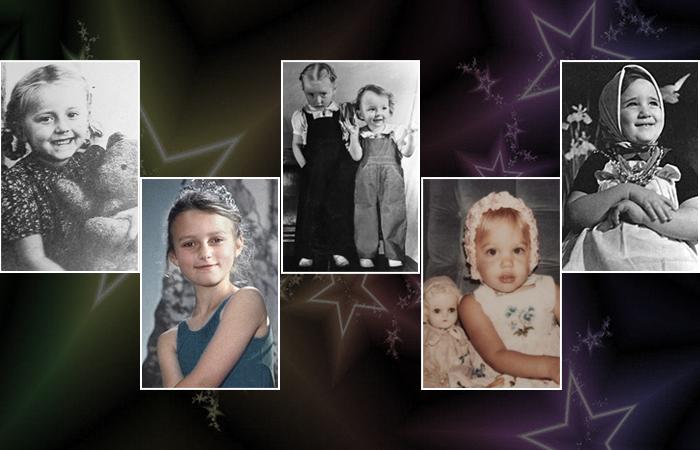 Девочки, которые были рождены чтобы стать актрисами
