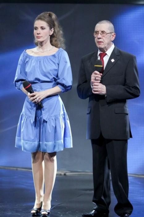 Валерий Золотухин и Ирина Линдт. / Фото: www.woman.ru
