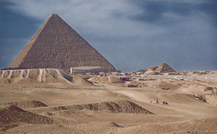 Pirâmide de Quéops.  / Foto: www.mstecker.com