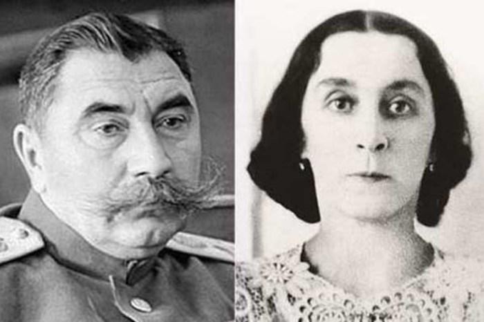 Семён Будённый и Ольга Михайлова. / Фото: www.stuki-druki.com