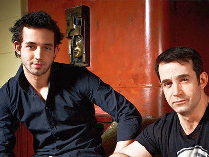 Дмитрий Певцов с сыном Даниилом. / Фото: www.kino-teatr.ru