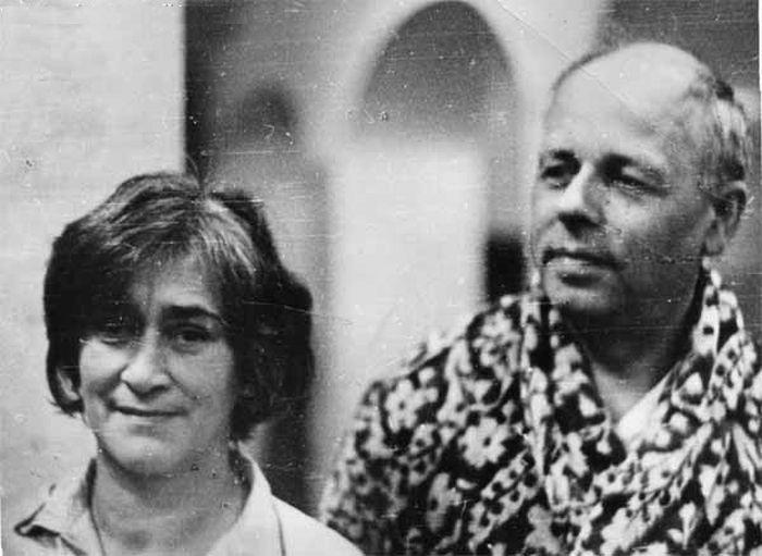 Андрей Сахаров и Елена Боннэр, 1974. / Фото: www.nekrassov-viktor.com