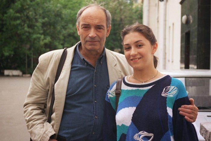 Валентин Гафт с дочерью. / Фото: www.bugrenok.ru