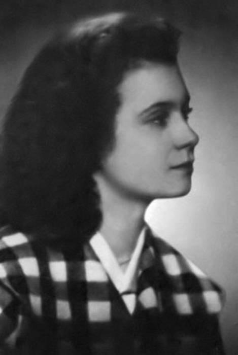 Салли Ландау в молодости. / Фото: www.russkije.lv