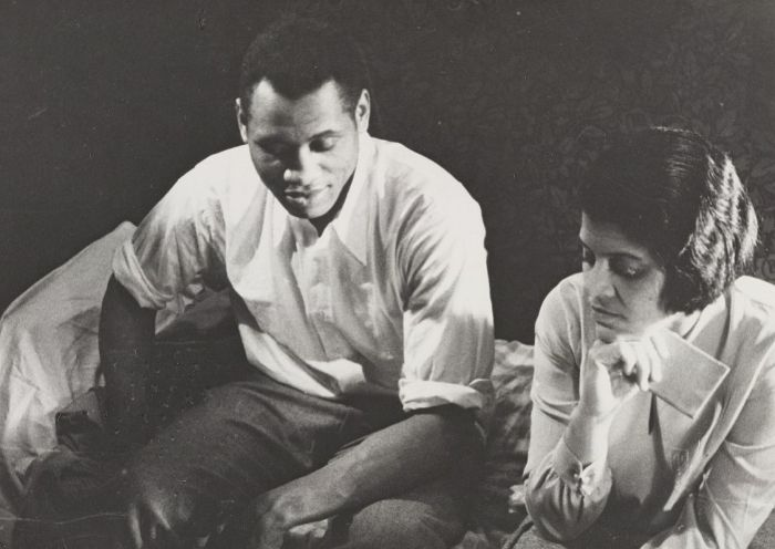 Поль и Эсланда Робсон. / Фото: www.theredlist.com