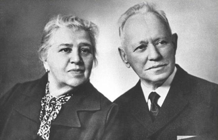 Михаил и Мария Шолоховы, 80-е годы. / Фото: www.900igr.net