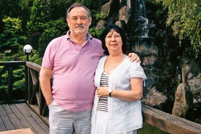 Богдан Ступка и Лариса Корниенко. / Фото: www.7days.ru