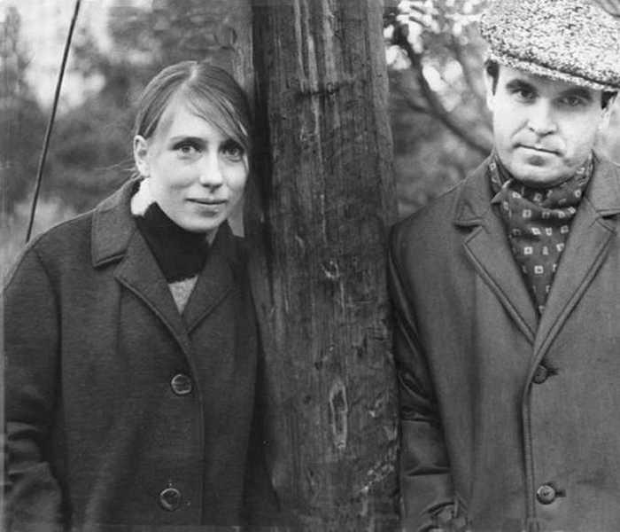 Глеб и Инна. 1968 г., октябрь. / Фото: Николай Гнисюк