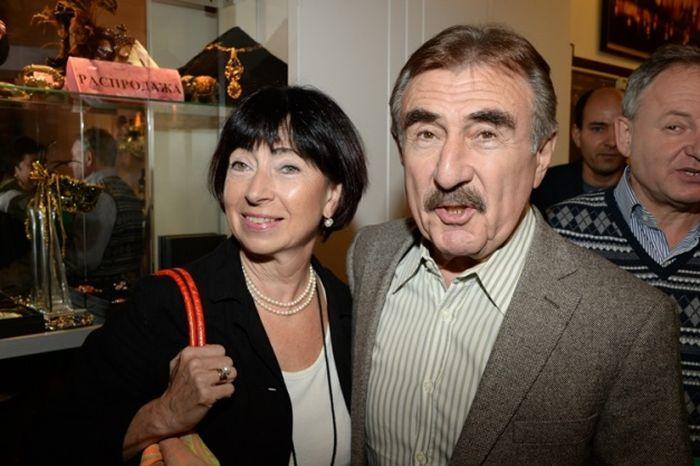 Леонид Каневский и Анна Березина. / Фото: www.zvezdi.ru