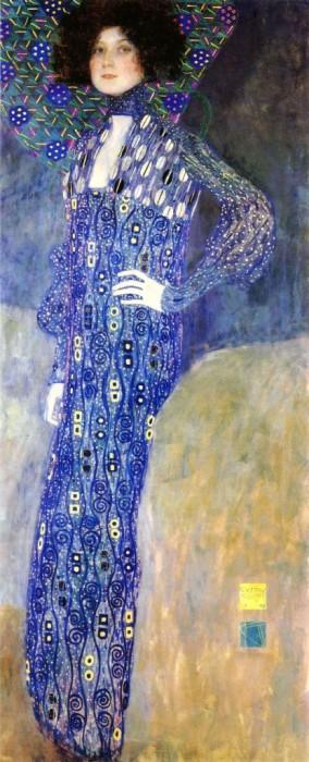 Эмилия Флёге, художник Густав Климт, 1902 год. / Фото: www.blog.i.ua