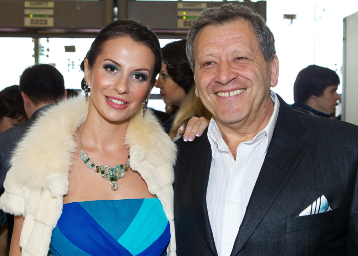 Борис Грачевский и Анна Панасенко. / Фото: www.mymarcy.ru