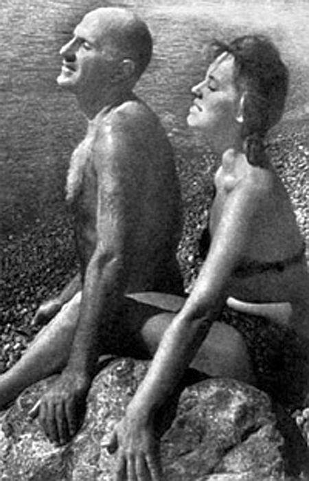 Владимир Зельдин и Иветта Капралова, 60-е годы. / Фото: www.bulvar.com.ua