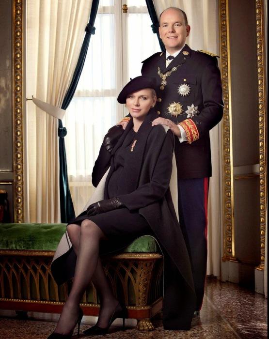 Князь Монако Альберт II с супругой. / Фото: www.blogspot.com