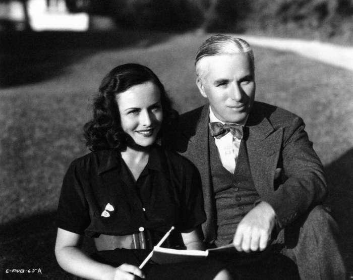 Уна О'Нил и Чарли Чаплин. / Фото: www.jetss.com