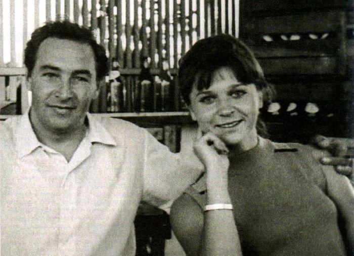 Вячеслав Тихонов с женой Тамарой / Фото: www.blogrider.ru